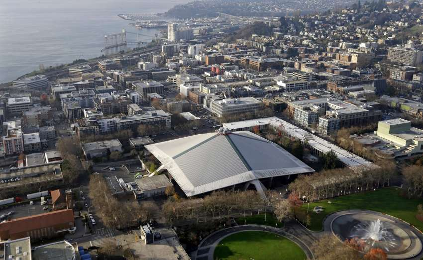 Die Key Arena wird die Heimat des NHL-Teams in Seattle sein. (Foto: picture alliance/AP Photo)