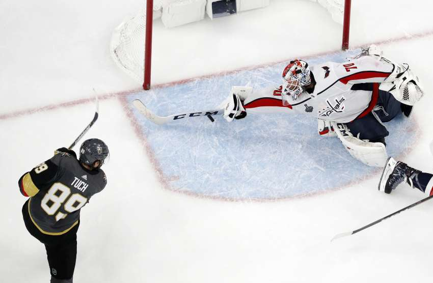 Save für die Ewigkeit: Braden Holtby. (picture alliance / AP Photo)