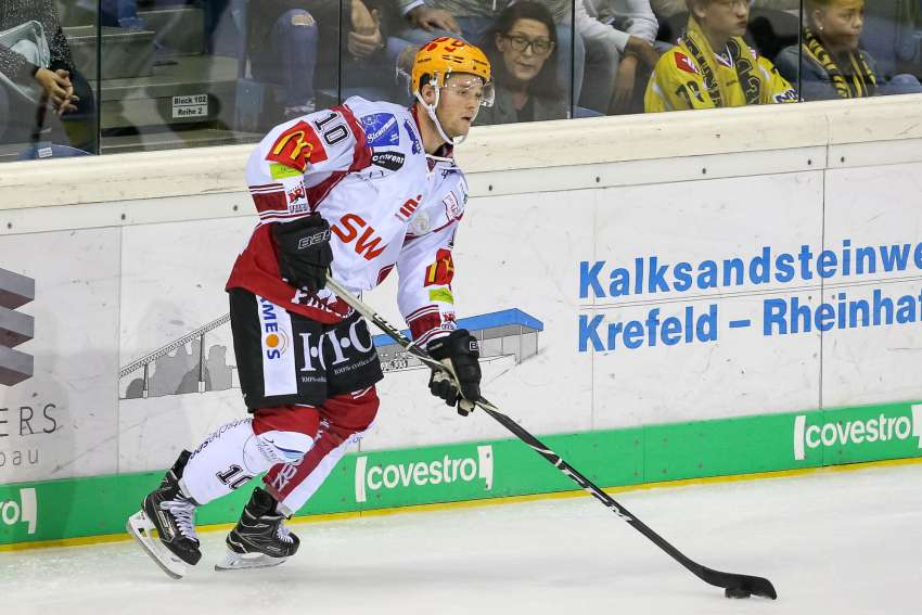 Chris Rumble wechselt zu den Iserlohn Roosters. (Foto: dpa/picture alliance/Revierfoto)