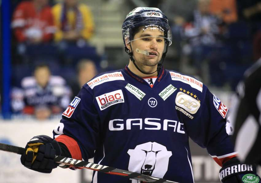 Colin Smith im Trikot der Eisbären Berlin (Foto: dpa/picture alliance/nordphoto)