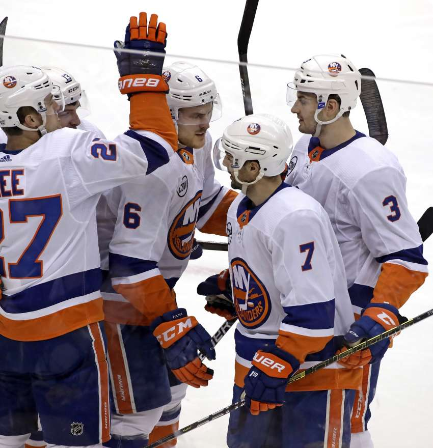 Jordan Eberle von den New York Islanders.  (picture alliance / AP Images)