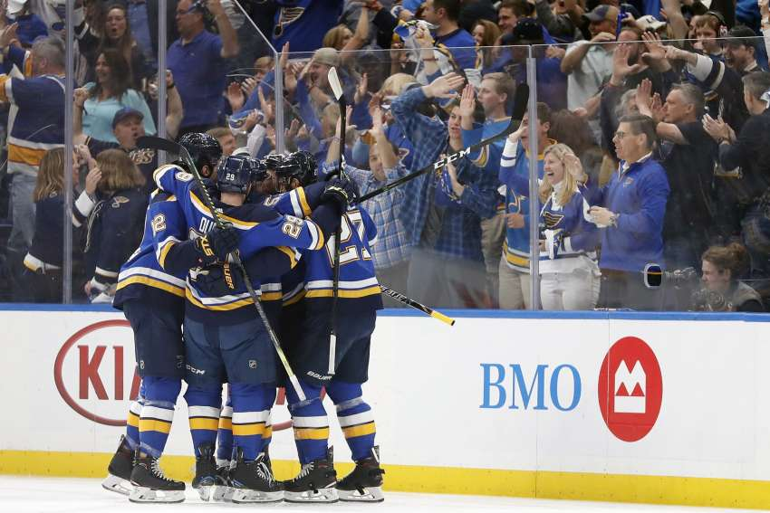 Blues take aim at winning first Stanley Cup (picture alliance / AP Photo)