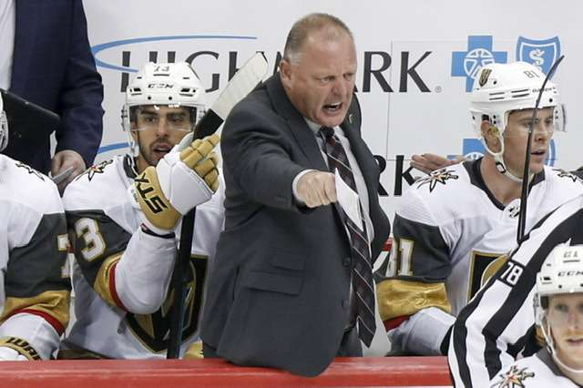 Gerard Gallant ist ab sofort nicht mehr Trainer der Vegas Golden Knights (picture alliance / AP Photo)