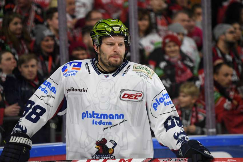Jack Combs im Trikot der Iserlohn Roosters (Foto: dpa/picture alliance)