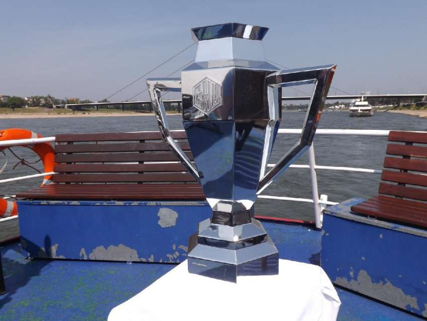 Die CHL-Trophäe. (Foto: the)