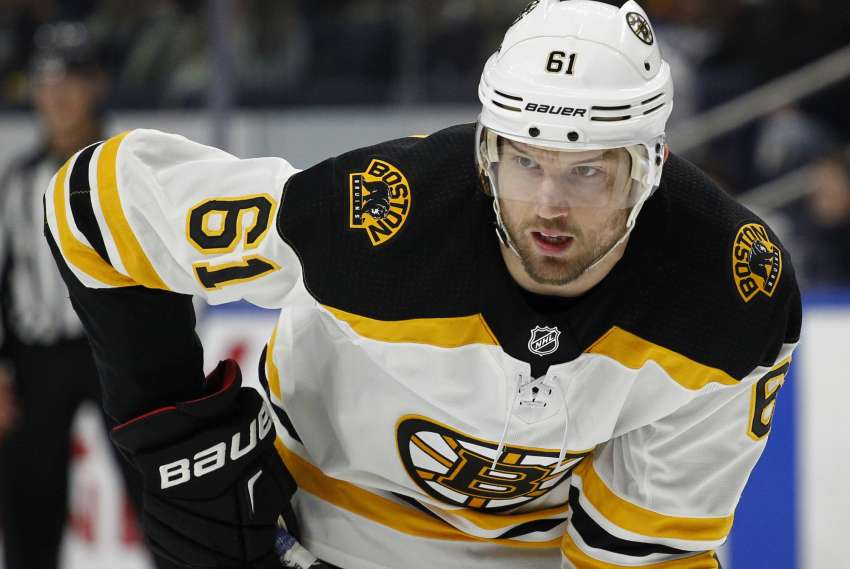 Rick Nash wechselte am gestrigen Sonntag von den New York Rangers zu den Boston Bruins. (picture alliance - AP Photo)