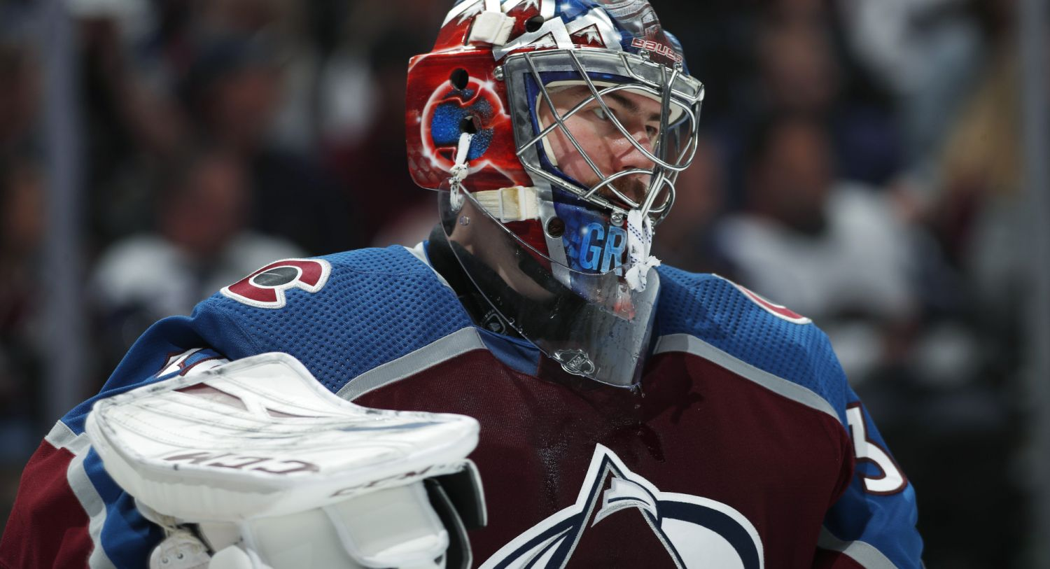 Torhüter Philipp Grubauer bei den Colorado Avalanche. (Foto: dpa/picture alliance/AP Images)