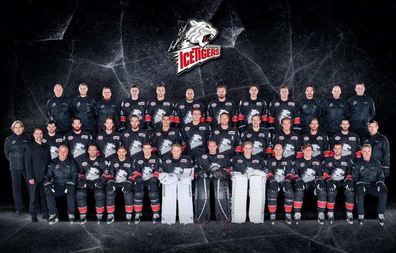 Teamfoto Nürnberg Ice Tiger 17/18